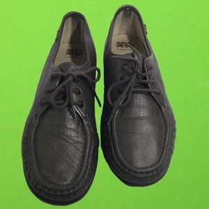 Sas loafers flats grey shoes size 11 women's